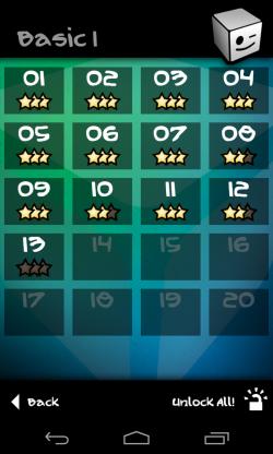 Qvoid - Level progress