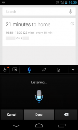 TouchPal X – Voice Input