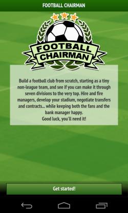 Football Chairman - Intro
