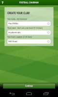 Football Chairman - Create