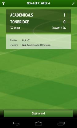 Football Chairman - Match info