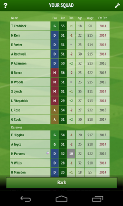 Football Chairman - Team