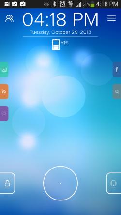 Start - Lockscreen