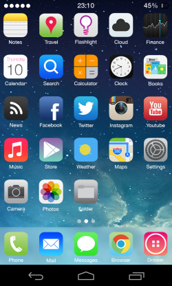 Themer Beta - iOS 7 Theme