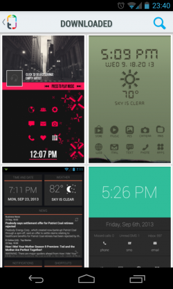 Themer - Downloaded gallery