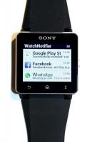 WatchNotifier on Sony Smartwatch 2