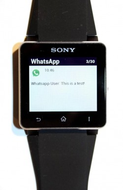 WatchNotifier on Sony Smartwatch 3