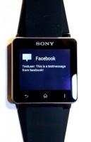 WatchNotifier on Sony Smartwatch 4