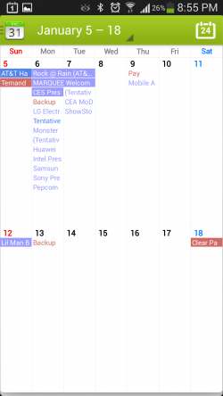 Calendar Plus - 2 Week View (Calendar App for Android)