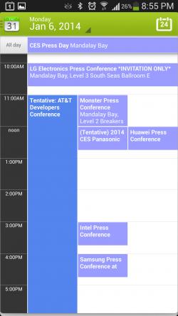 Calendar Plus - Day View