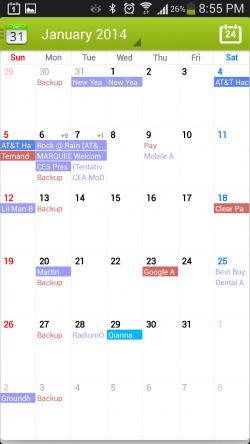 Calendar Plus - Month View