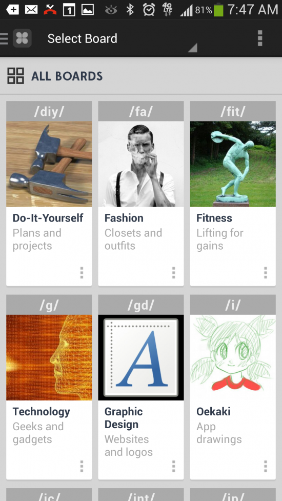 Chanu – 4chan for Android. Browse, comment & post on the popular image bulletin board