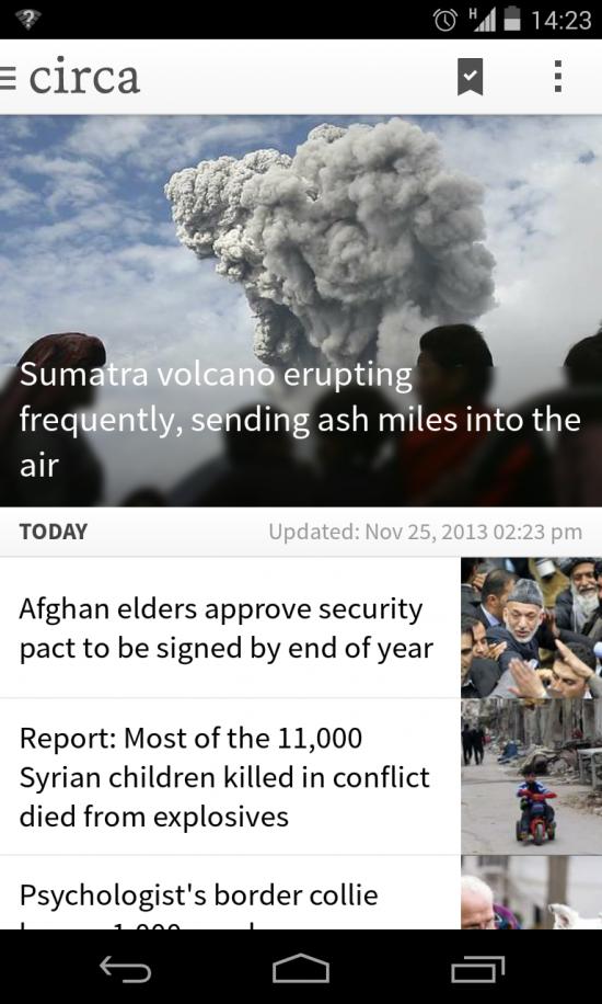 Circa News – concise & elegant news reader app