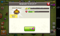 Clash of the Clans - Upgrade