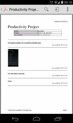 Clued-Up - PDF