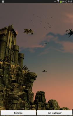 Dragon Strike Live Wallpaper - Set as Background