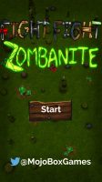 Fight Fight Zombanite - Start Screen