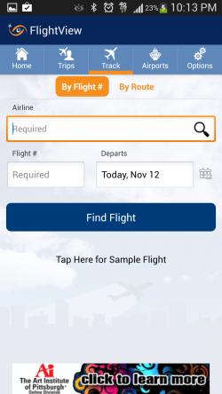 FlightView Free Flight Tracker - Track by Flight Number
