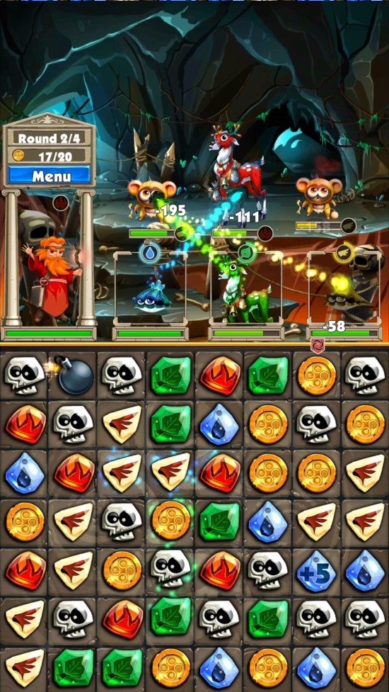 (Download) Match 3 Quest – gem swap meets RPG gaming!