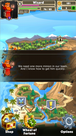 Match 3 Quest -Map