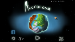 Microcosm - Start Screen