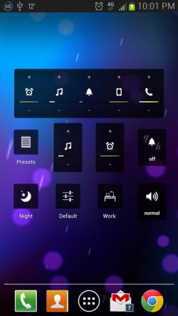 Persist Volume Control - Home Screen Widgets