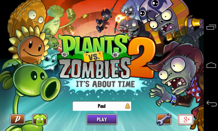 Plants vs. Zombies 2 – play the time traveling addictive blockbuster sequel!