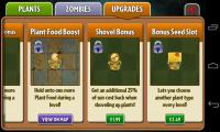 PvZ2 - Upgrades