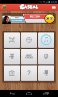 QuizCross - Game board
