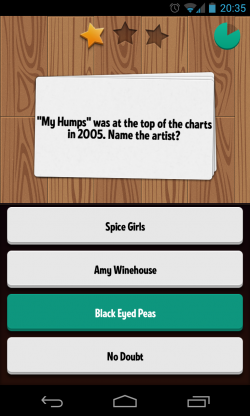 QuizCross - Question