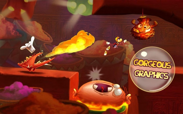(New Game) Rayman Fiesta Run now available!