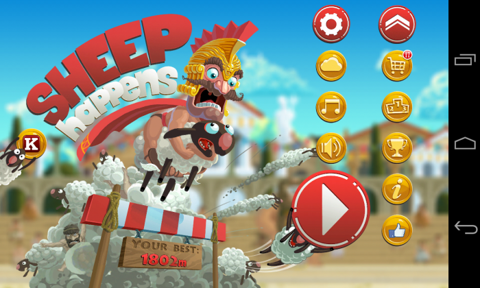 Sheep Happens! Play this hilarious endless runner game