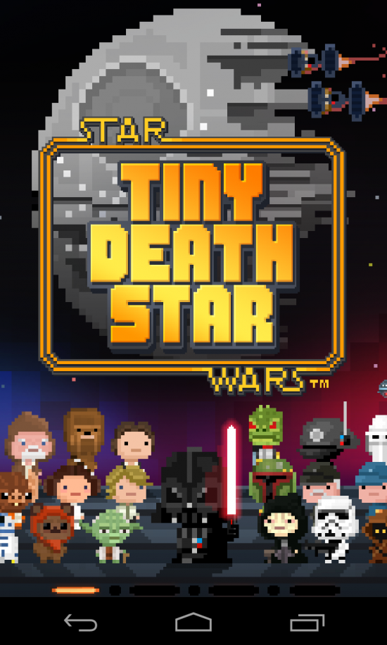 Star Wars: Tiny Death Star. The Empire Goes 8-bit!
