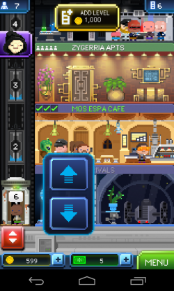 Star Wars Tiny Death Star - Similar game layout