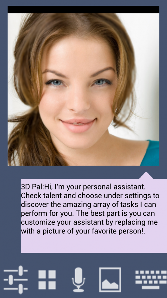 3D Pal Virtual Assistant – cool app to use any photo & transform into a 3D Siri