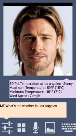 3D Pal Virtual Assistant - Customize as Brad Pitt