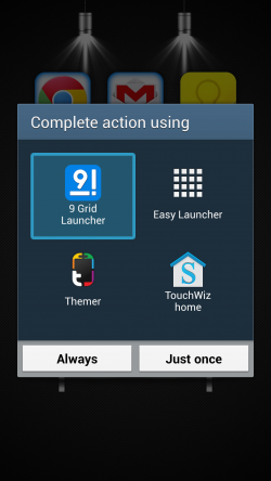 9 Grid Launcher - How to Set as Default Launcher