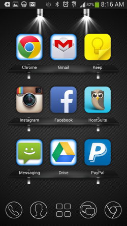 9 Grid Launcher - Theme