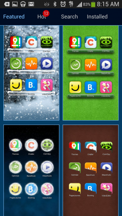 9 Grid Launcher - Themes