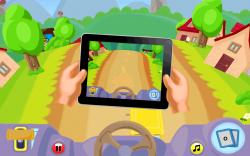 Alphabet Car - Tilt to Steer