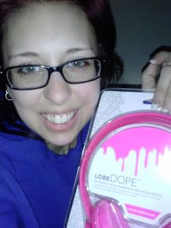Amanda Turco - Winner of lobeDope Headphones
