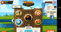 Angry Birds Go - Dashboard