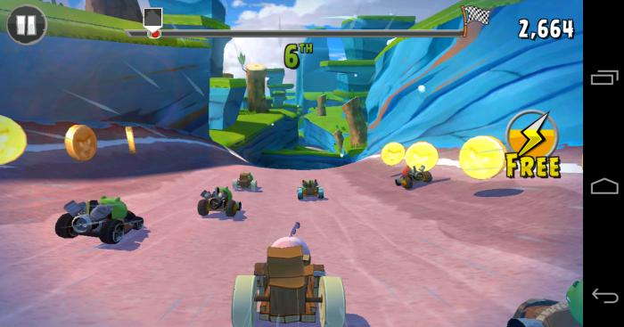 скачать игру Angry Birds Go скачать на андроид - фото 10