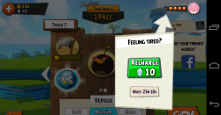 Angry Birds Go - Tiredness, because you can only have so much fun unless you want to pay