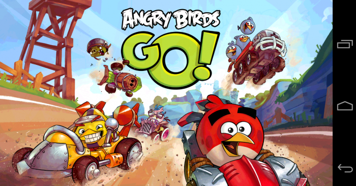 Angry Birds Go! Is it better than Mario Kart?