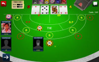 Baccarat 3D - Gameplay 1