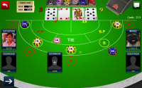 Baccarat 3D - Gameplay 2