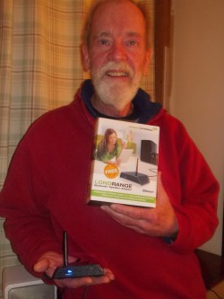 Bill McGovern - Winner of Long Range Bluetooth Speaker Adapter from Amped Wireless
