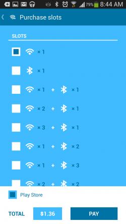 Blusec WiFi Bluetooth Unlocker - Purchase Slots