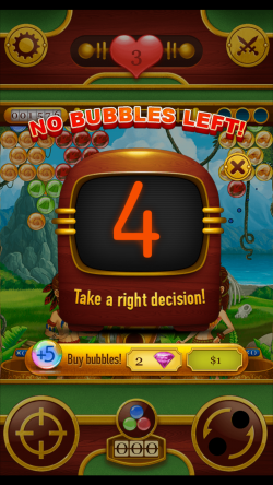 Bubble Chronicles Epic Travel - Purchase More Bubbles